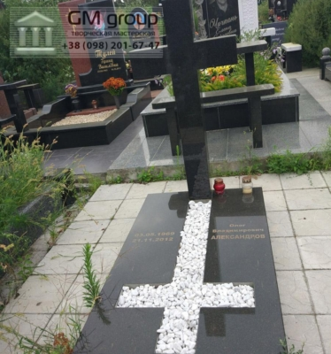 Крест на могилу №291
