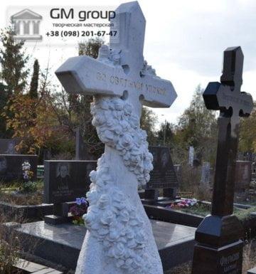 Крест на могилу №340